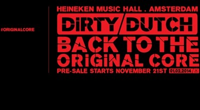 Dirty Dutch in de HMH